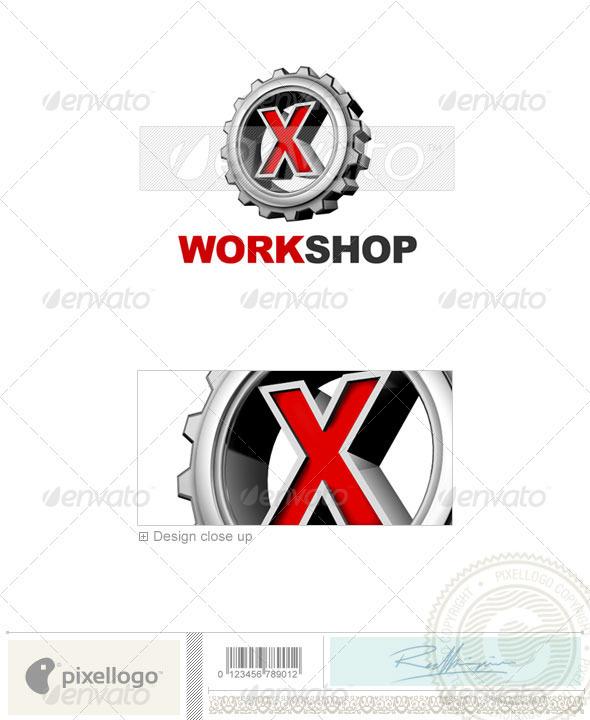 X Logo - 3D-292-X
