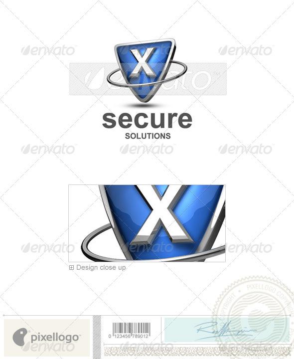 X Logo - 3D-285-X