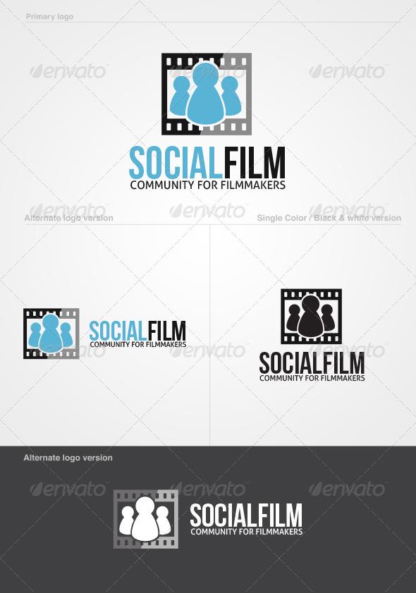 SocialFilm Logo Template