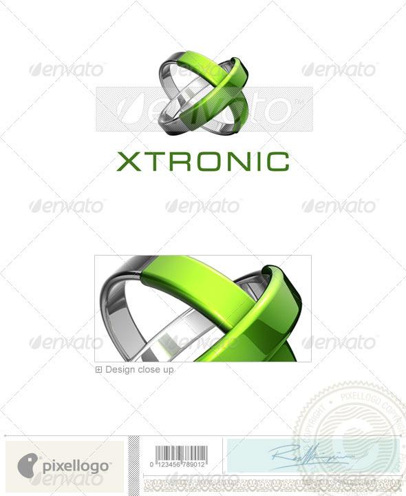Technology Logo - 3D-667