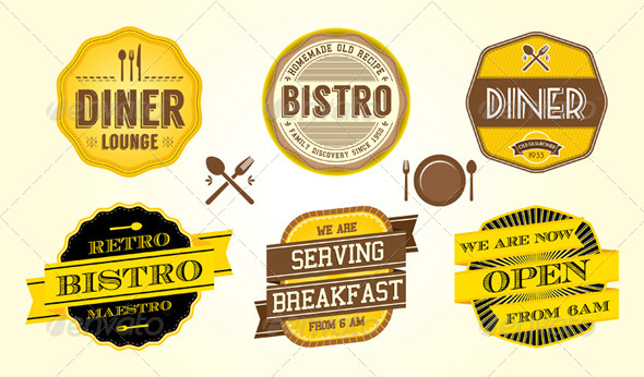 Eat and Lunch Graphics, Designs & Templates from GraphicRiver