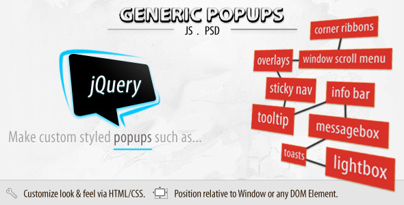 Generic Popups (jQuery)