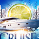 Summer Boat Cruise Party flyer - GraphicRiver Item for Sale