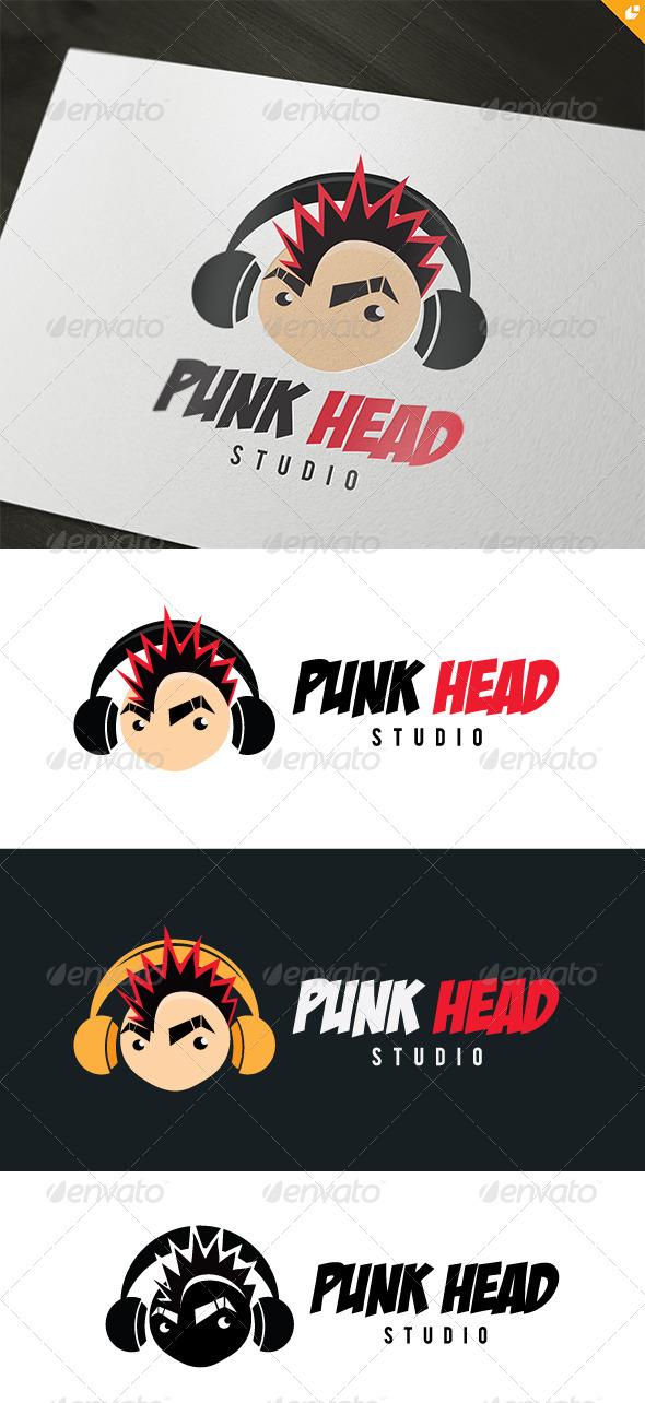 Punk Head Logo