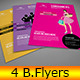 4 Business Advert / Flyer - GraphicRiver Item for Sale