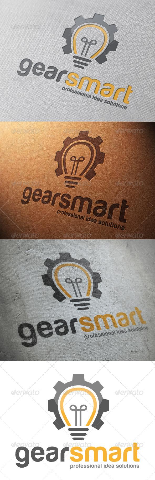 Idea Gear Logo Template