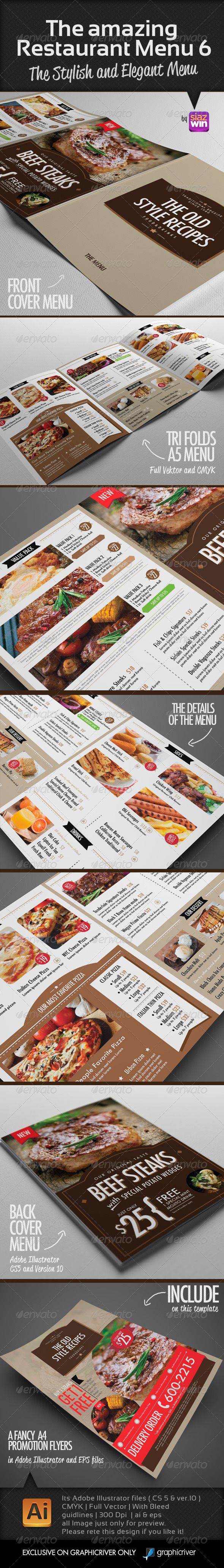 Cafe Menu Templates From Graphicriver