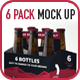 6 Pack Carton Mock Up - GraphicRiver Item for Sale