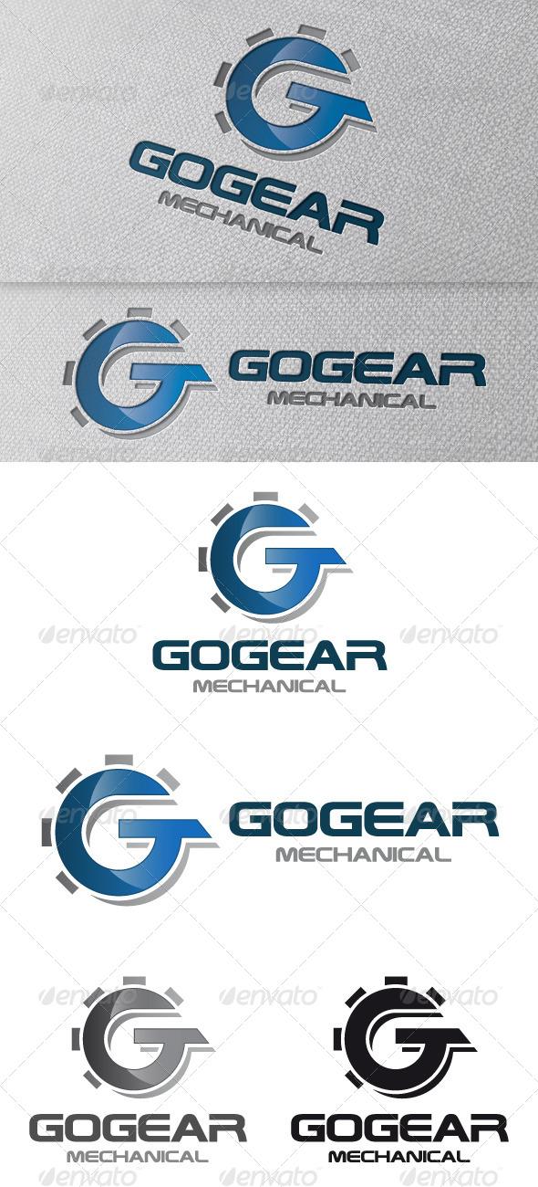 Gear Letter G Logo Template