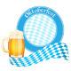 Oktoberfest Banner with Beer Mug - GraphicRiver Item for Sale