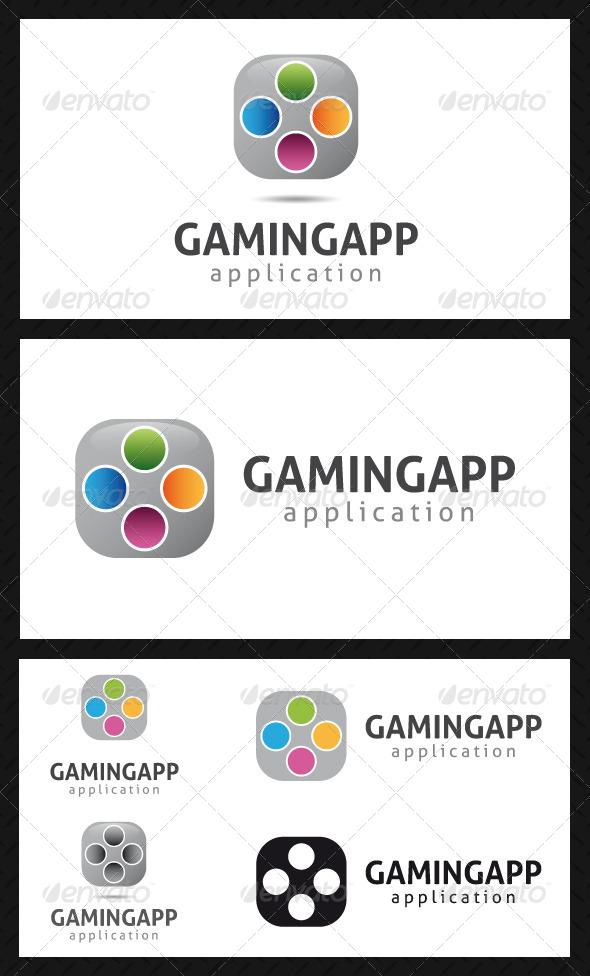 Gaming App Logo Template