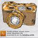 Vintage Camera Doodle Vector - GraphicRiver Item for Sale