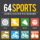 Sport Icons - GraphicRiver Item for Sale