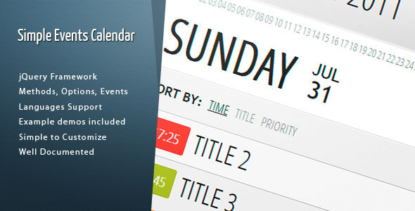 Codecanyon | Simple Events Calendar JS Free Download free download Codecanyon | Simple Events Calendar JS Free Download nulled Codecanyon | Simple Events Calendar JS Free Download