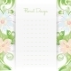 Floral Card Invitation Template. Flower Design - GraphicRiver Item for Sale