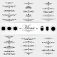 Calligraphy Design Elements Page Decoration  - GraphicRiver Item for Sale