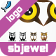 Owl Logo Mascot Templates  - GraphicRiver Item for Sale
