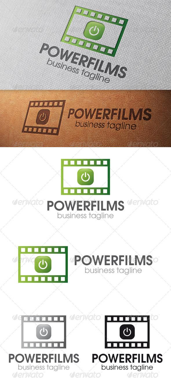 Power Films Logo Template