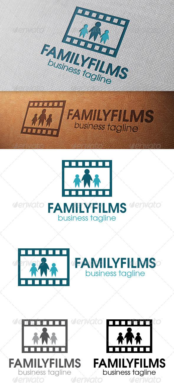 Family Films Logo Template