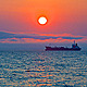 Evening Sun and Ship - VideoHive Item for Sale