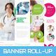 Premium Medical Roll-up Banner - GraphicRiver Item for Sale