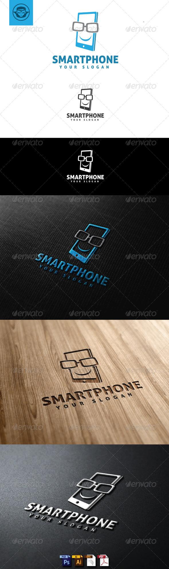 Smartphone Logo Template