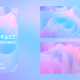 Flowing Swirly Colorful Shapes Pack - VideoHive Item for Sale