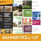 Premium Estate Banner Roll-up - GraphicRiver Item for Sale