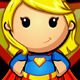 SuperGirl Mascot Character - GraphicRiver Item for Sale