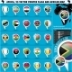 Africa Pointer Flag Icons with african Map set1 - GraphicRiver Item for Sale