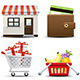 Vector Shopping and Consumerism Icon Set - GraphicRiver Item for Sale