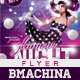 GlamourNight - Flyer Template - GraphicRiver Item for Sale