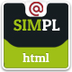 SIMPL - Clean Modern Portfolio & Business Site Tem - ThemeForest Item for Sale