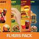 Premium Restaurant Flyers - GraphicRiver Item for Sale