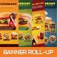 Premium Restaurant Banner Roll-up - GraphicRiver Item for Sale