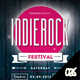 Indie Rock Festival Flyer / Poster - GraphicRiver Item for Sale