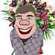 Smiling Romantic Man Giving Flowers - GraphicRiver Item for Sale