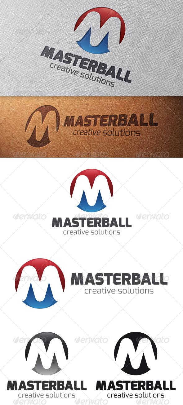 Master Letter M Logo Template