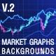 Business Stock Market Graphs vol.2 - VideoHive Item for Sale