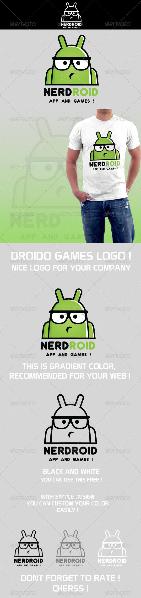 Nerdroid Logo