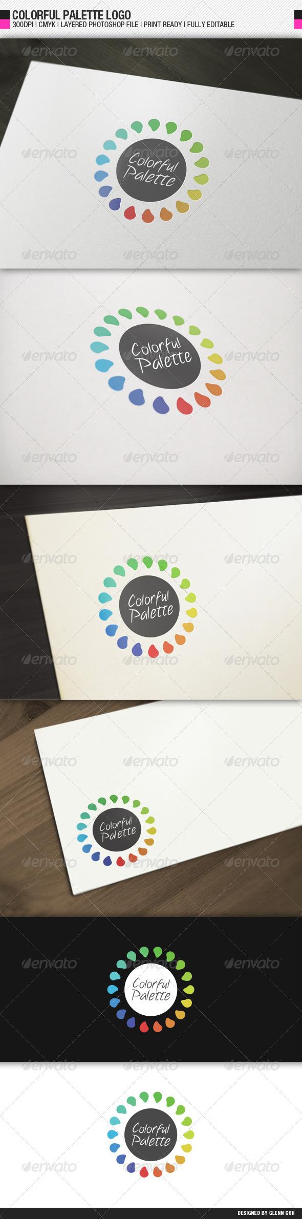 Colorful Palette Logo