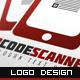 QR Code Scanner Logo - GraphicRiver Item for Sale
