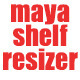 Maya Shelf Resizer - 3DOcean Item for Sale