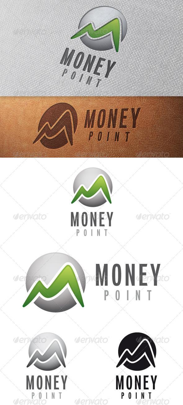 Money M Letter Logo Template