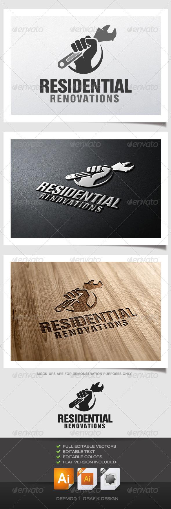 Residential Renovations Logo