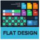 UI Kit - Flat Design - GraphicRiver Item for Sale