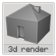 3D House - GraphicRiver Item for Sale