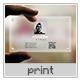 Translucent Creative Business Card - GraphicRiver Item for Sale