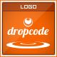 Drop Code - Coding/Scripting - Logo - GraphicRiver Item for Sale