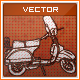 Hand Drawn Scooter - GraphicRiver Item for Sale